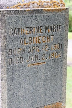 CATHERINE MARIE ALBRECHT