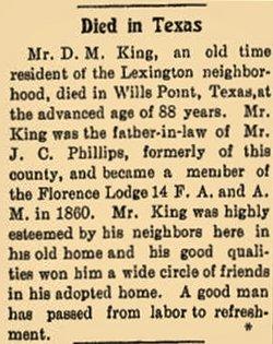 Drury Minton King