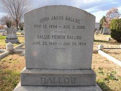 Sgt John Jacob Ballou, Sr