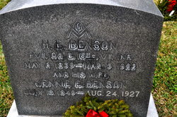 Henry Ellis Benson