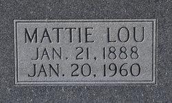 Mattie Lou <i>Fletcher</i> Blair