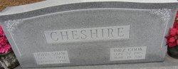 Mrs Inez <i>Cook</i> Cheshire