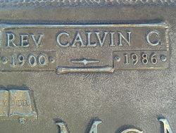 Rev Calvin Charm McMasters