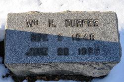 William H Durfee