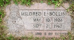 Mildred E Bolling