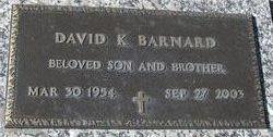 David K Barnard