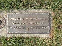 Dorothy M McCarthy