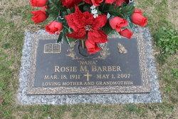 Rosie M Barber