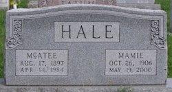 Mamie Lou <i>Conrad</i> Hale
