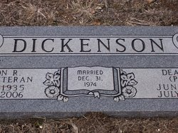 Dena Kay <i>Porter</i> Dickenson