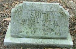 Ellison Durant Smith, Jr