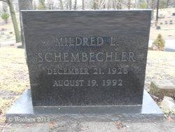 Mildred L Millie <i>Williams</i> Schembechler