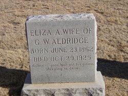 Eliza A. Aldridge
