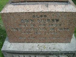 Ann Nurse