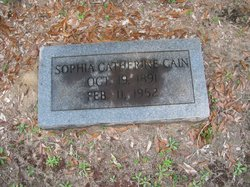 Sophia Catherine Cain