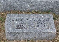 Wilhelmina Adams