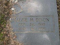 Elizabeth Camilla Lizzie <i>Harrell</i> Dixon