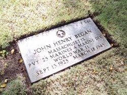 PFC John Henry Began
