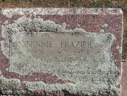 Minnie W. <i>House</i> Frazier