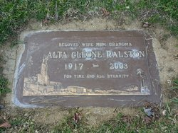 Alta Cleone <i>Behunin</i> Ralston
