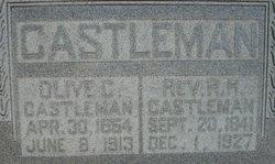 Rev Richard Hiram Castleman