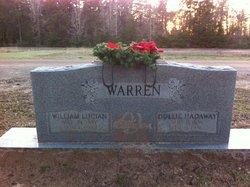 Willie May Dollie <i>Hadaway</i> Warren