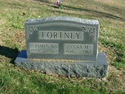 Anna Melverta <i>Wentz</i> Fortney