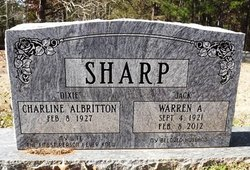 Warren Jack Sharp