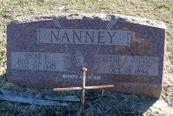 Bessie Eleanor <i>Jackson</i> Nanney