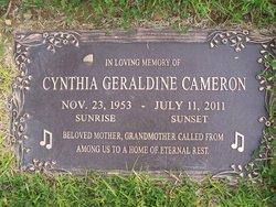 Cynthia Geraldine <i>Higgins</i> Cameron