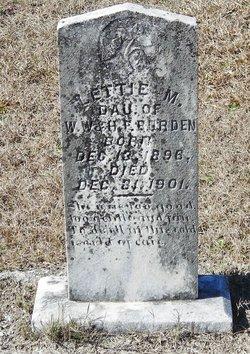 Lettie M. Burden