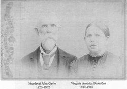 Virginia America <i>Broaddus</i> Gayle