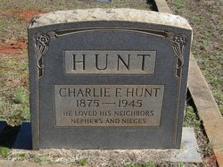 Charles F. Charlie Hunt
