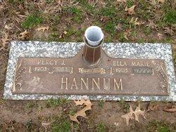 Ella Marie <i>Hunsaker</i> Hannum