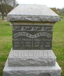 Mary A. <i>Little</i> Greenlee