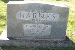 Ronald Gleason Barnes