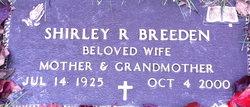 Shirley R Breeden