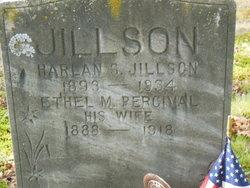 Ethel May <i>Percival</i> Jillson