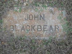 John Blackbear
