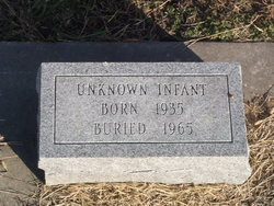 Infant Unknown