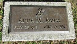 Anna M Achey