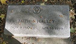 Faith <i>Fitzgerald</i> Halley