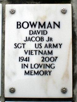 David Jacob Bowman, Jr