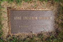 Anna M. Annie <i>Backman</i> Brostrom