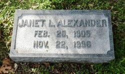 Janet Naomi <i>Lipscomb</i> Alexander