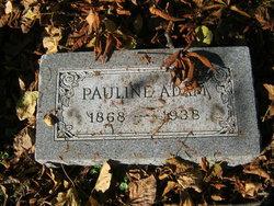 Pauline <i>Gerhardt</i> Adam
