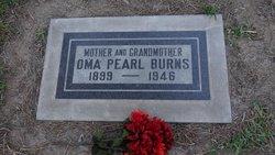 Oma Pearl <i>Singleton</i> Burns