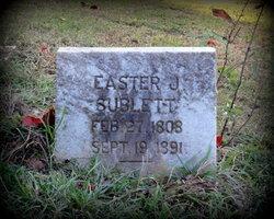 Easter Jane <i>Roberts</i> Sublett