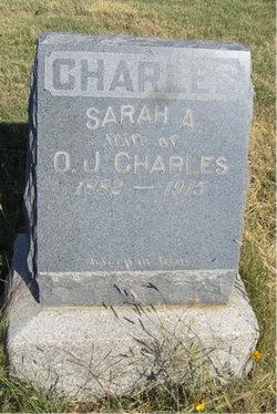 Sarah Augusta Sadie <i>Morton</i> Charles