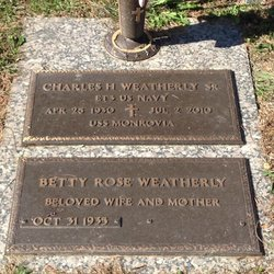 Charles Hutton Weatherly, Sr